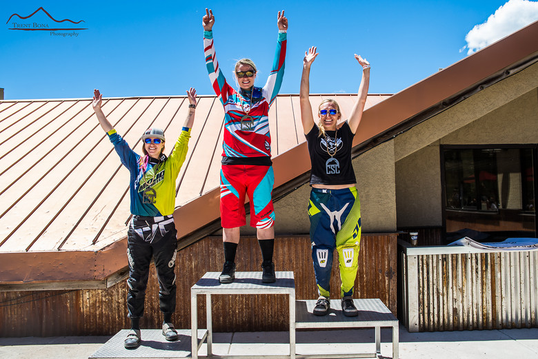 Took the win at Crested Butte Central States Cup DH